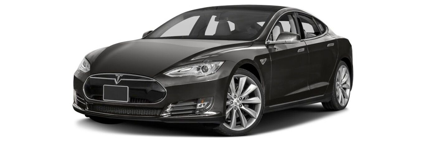 2015 Tesla Model S exterior front fascia and drivers side