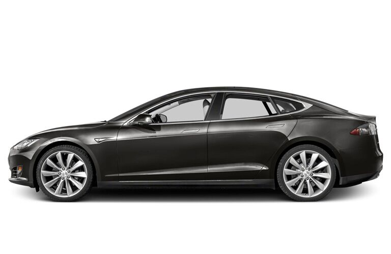 2015 Tesla Model S exterior drivers side profile