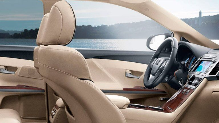 front passenger seat of the 2015 Toyota Venza