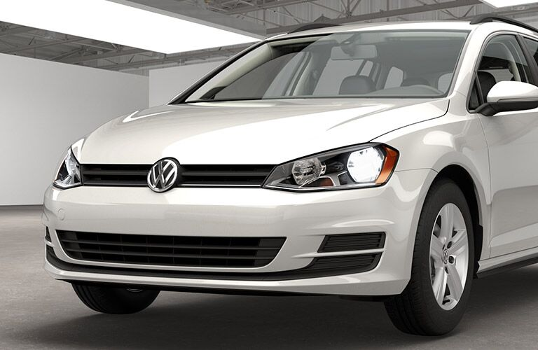 2015 VW Golf exterior front fascia and partial drivers side