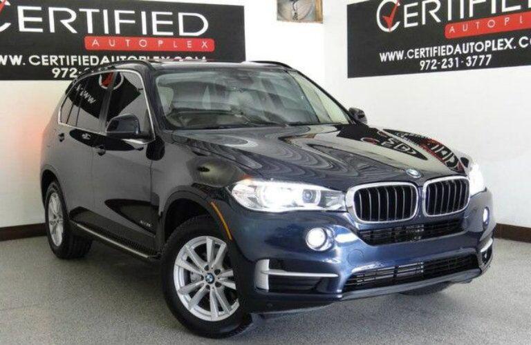 Navy blue 2015 BMW X5 at Certified Autoplex