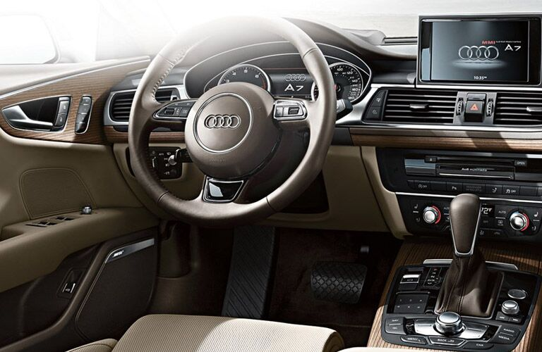 Audi A7 seating