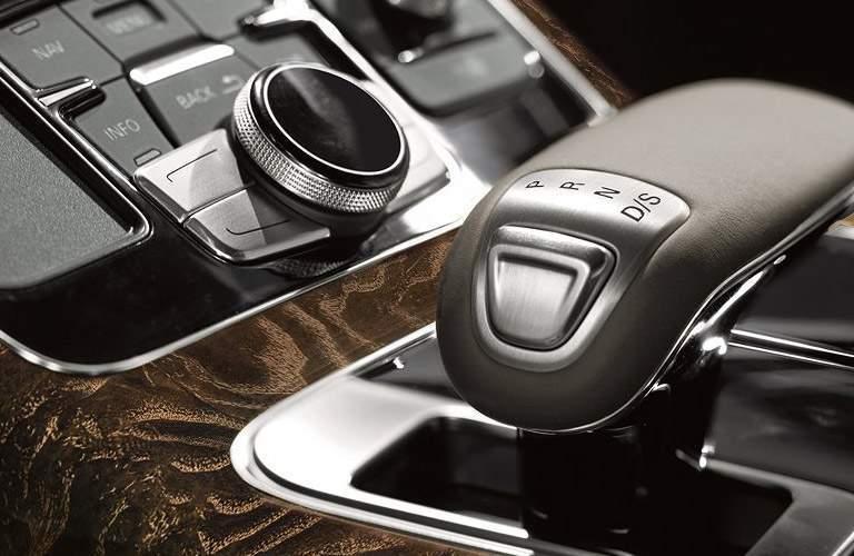 Audi A8 L gear shift