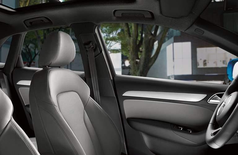 Audi Q3 driver's seat