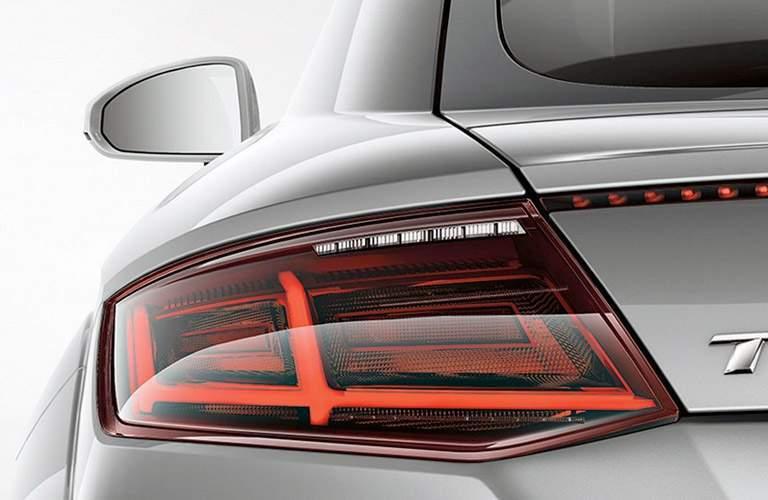 silver Audi TT taillight