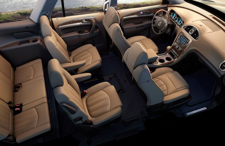 Used Buick Models seating in Enclave