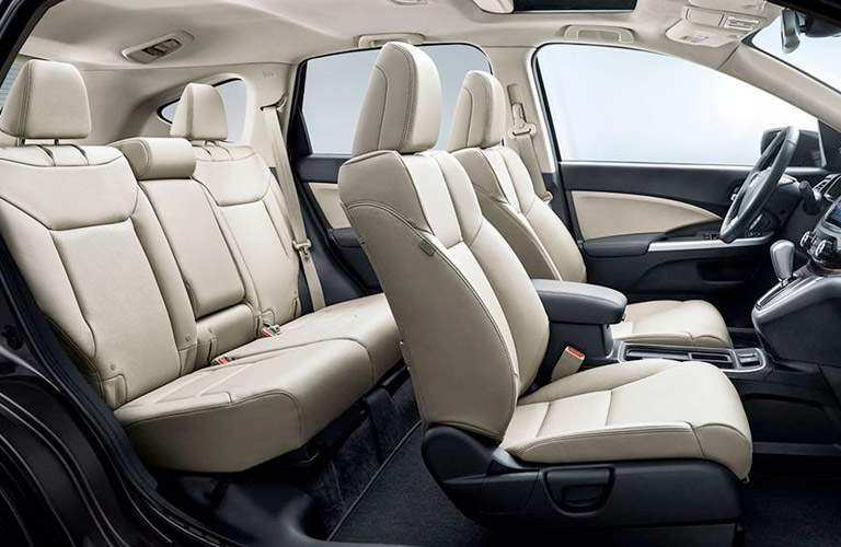 Honda CR-V seating side view