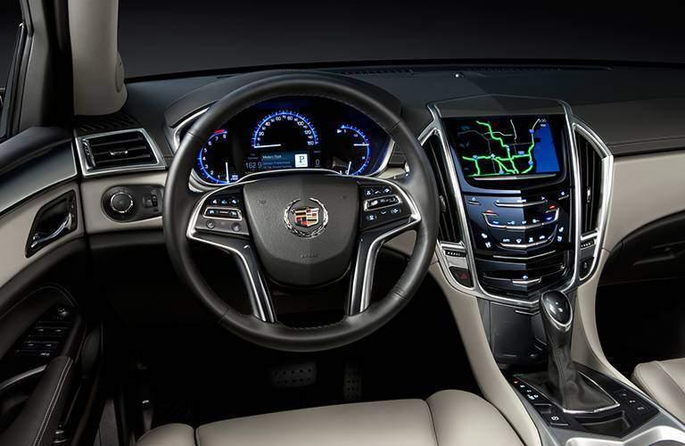 Cadillac SRX dashboard