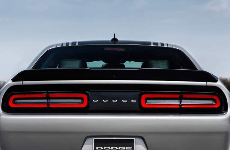 2016 Dodge Challenger silver back exterior