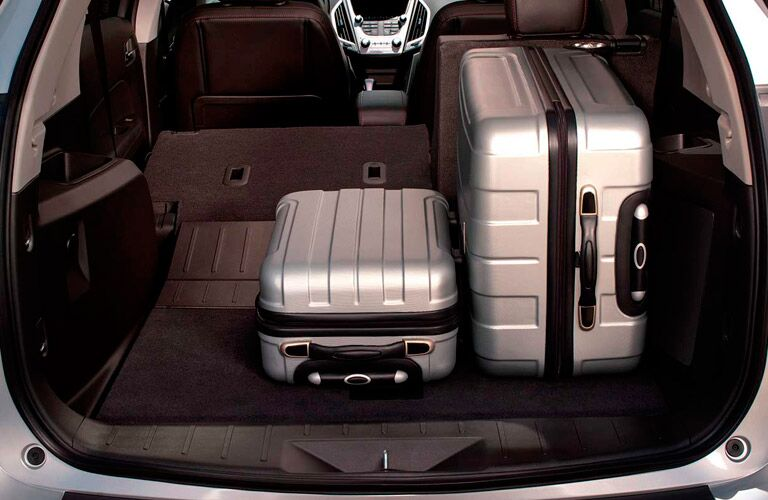 Used GMC Terrain storage