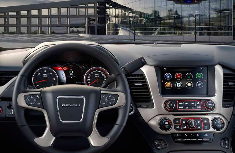 GMC Yukon dashboard