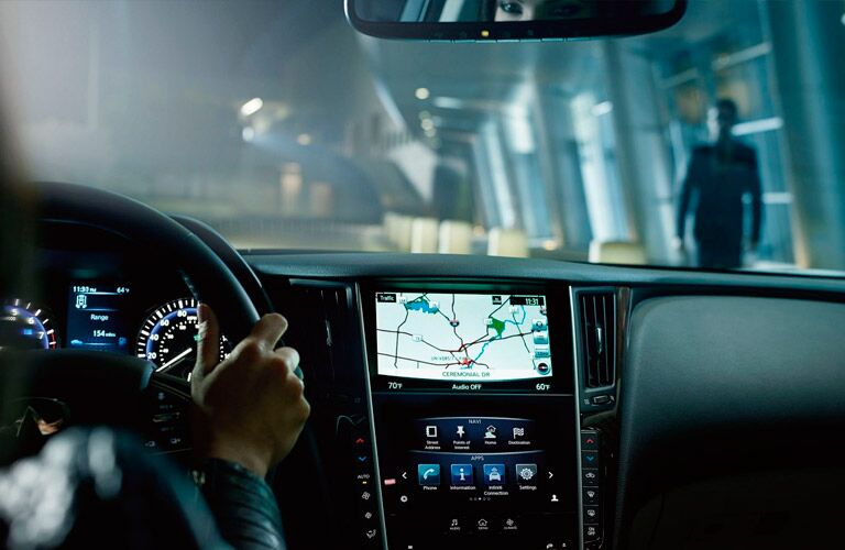 Infiniti navigation
