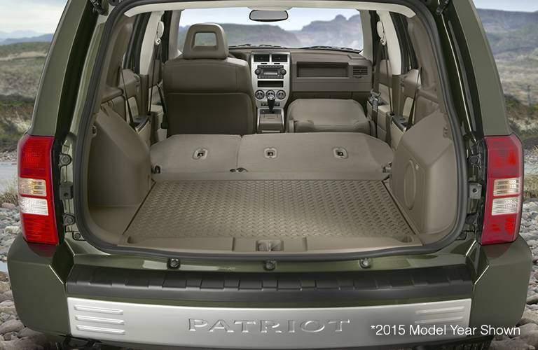 Jeep Patriot cargo space