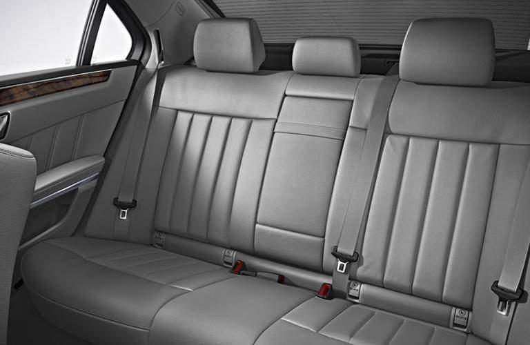 Mercedes-Benz E-Class back seats