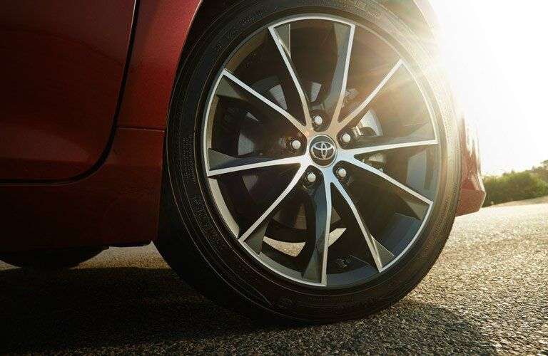 2016 Toyota Camry wheel close-up
