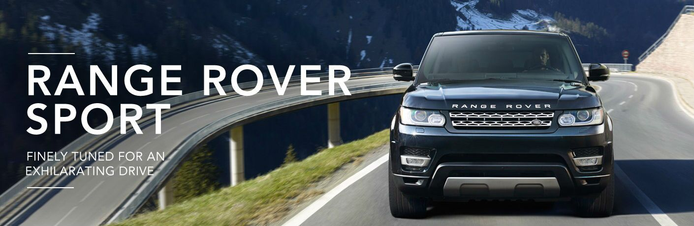 2016 Land Rover Range Rover exterior front fascia going fast on highway