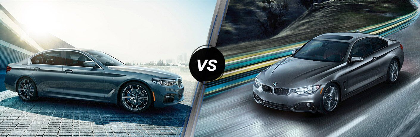 BMW 5 Series vs 4 Series