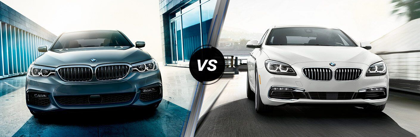 BMW 5 Series vs 6 Series