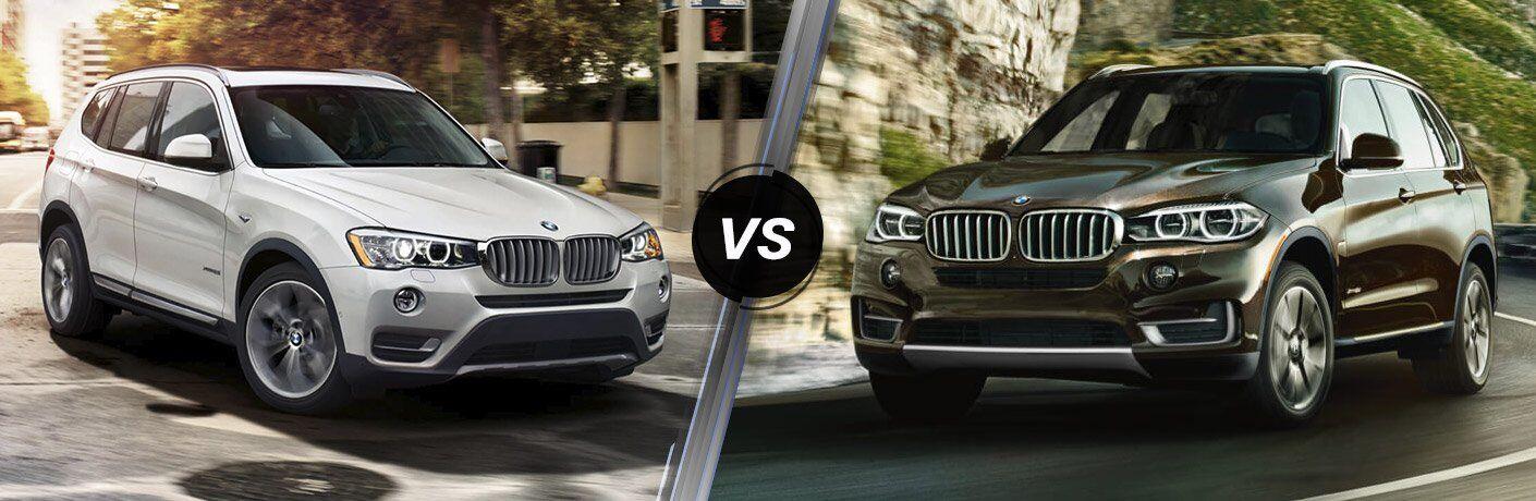 BMW X3 vs X5