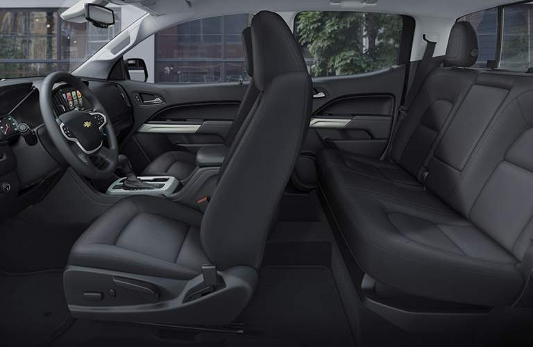 2017 Chevy Colorado seating