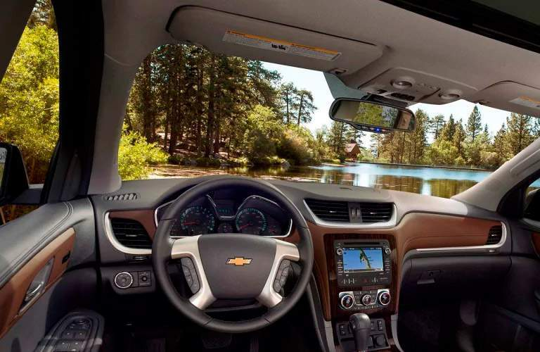 2017 Chevy Traverse dashboard