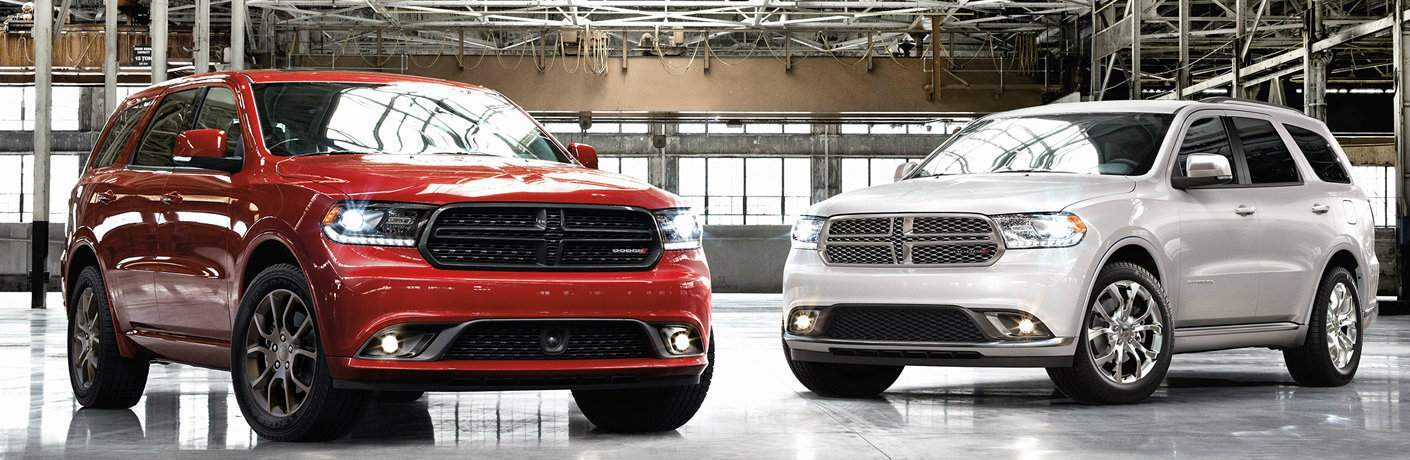 two models of the Dodge Durango