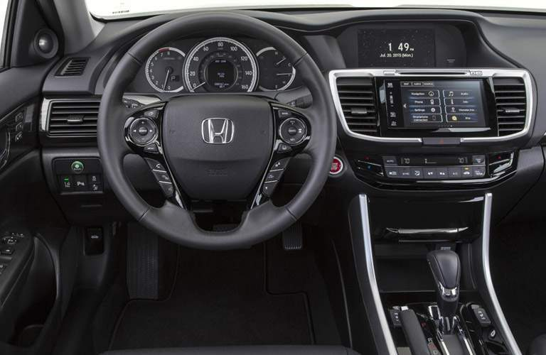 2017 Honda Accord dashboard
