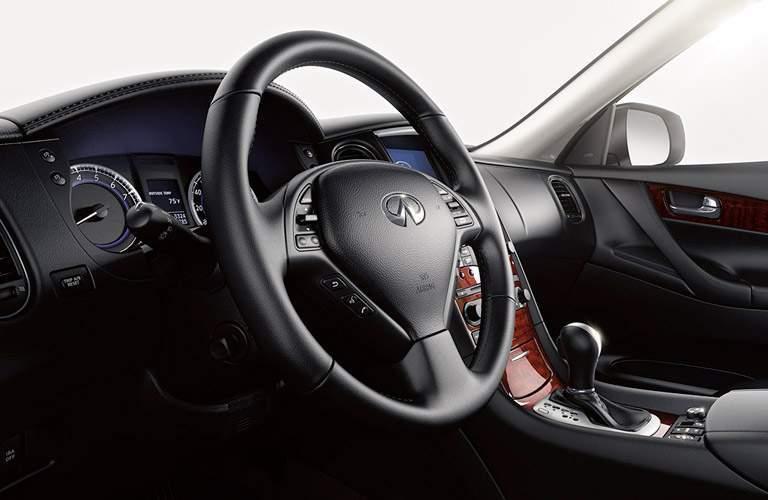 2017 Infiniti QX50 steering wheel