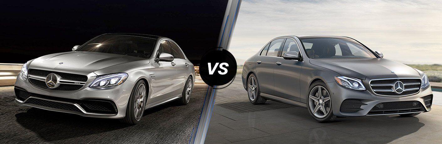 Mercedes-Benz C-Class vs E-Class