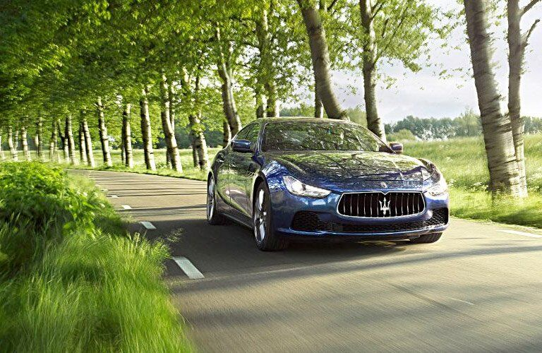 front view of the 2017 Maserati Ghibli