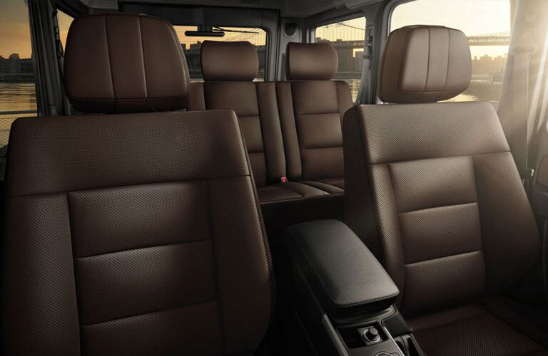 Mercedes-Benz G550 seating