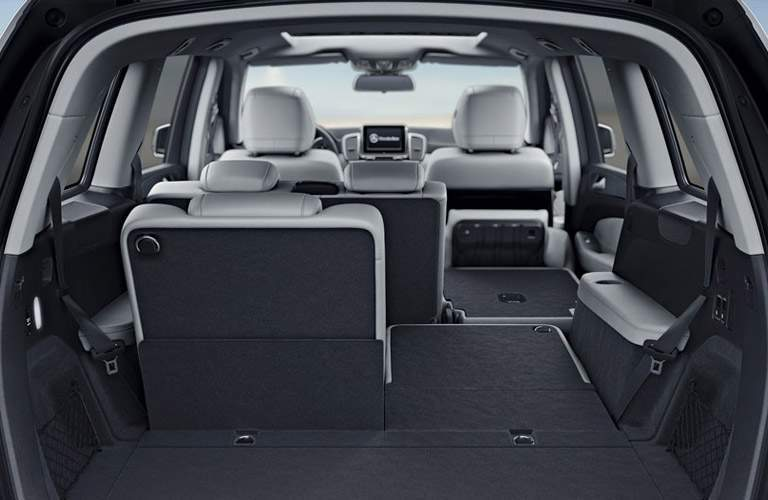 2017 Mercedes-Benz GLS Rear Cargo Space with Rear Seats Laid Flat