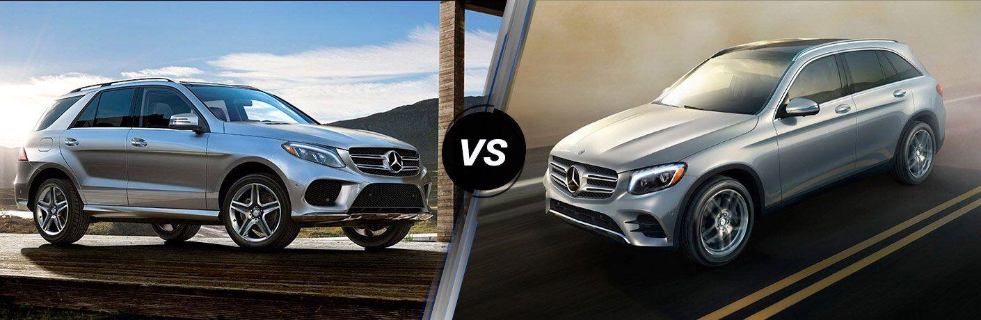 Mercedes-Benz GLE vs GLC