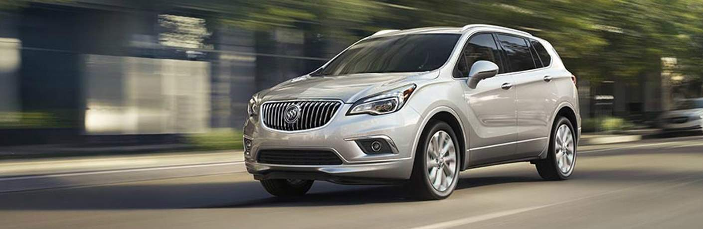 silver Buick Envision front side view