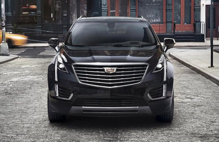 cadillac xt5 from front