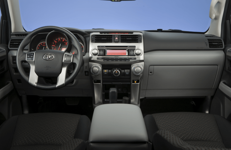 Toyota 4Runner dashboard