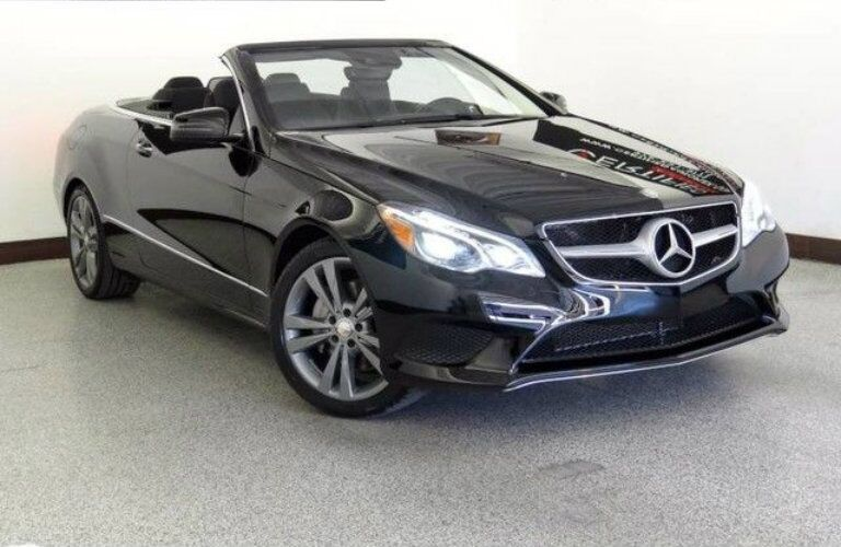 Front view of 2014 Mercedes-Benz E350 Convertible