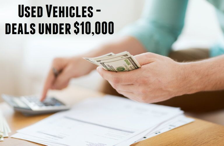 used vehicles under $10,000 near Dallas TX