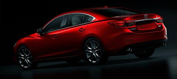 ... 19 Inch Wheels On The 2016 Mazda 6 ...