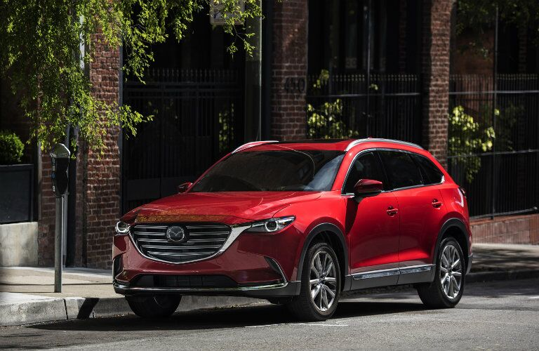 all-new 2016 mazda cx-9 in soul red paint color
