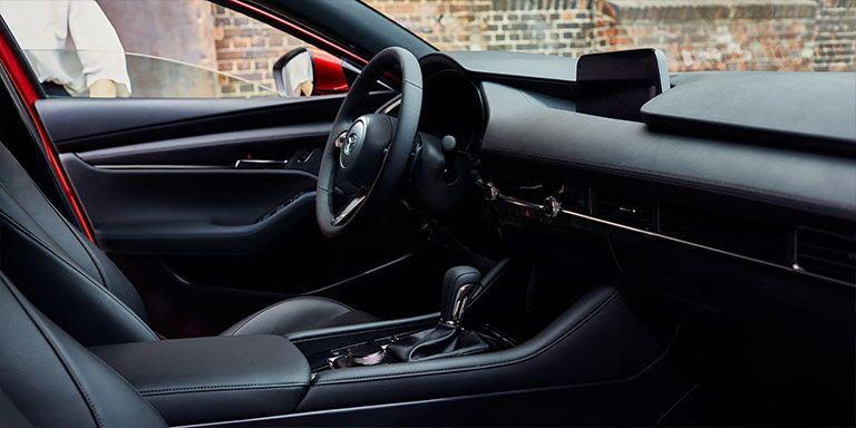 2019 Mazda3 interior cabin