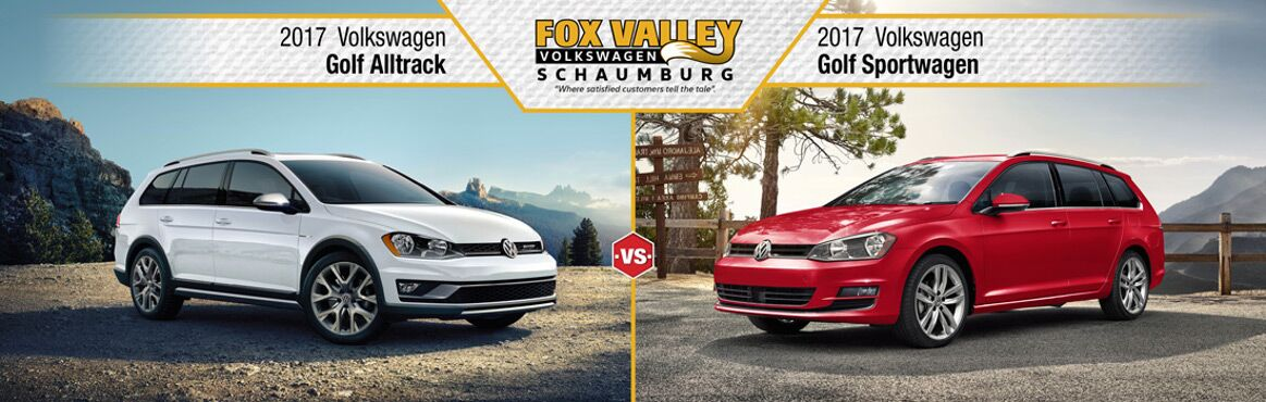 2017 volkswagen alltrack vs sportwagen fox valley schaumburg. Black Bedroom Furniture Sets. Home Design Ideas