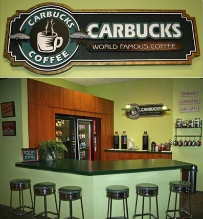 Carbucks Coffee Shop at Island Lincoln