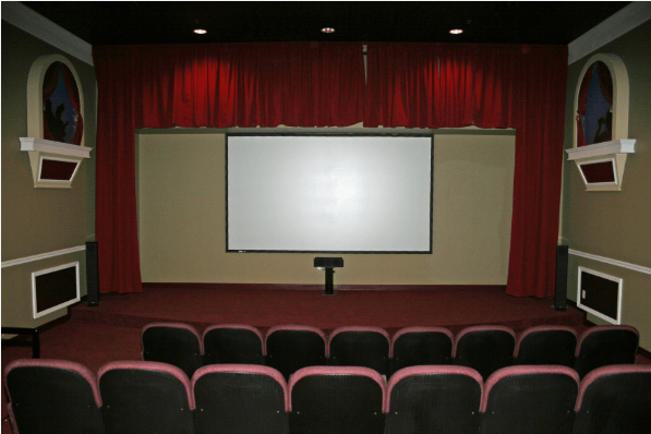 In-House Theater at Island Lincoln