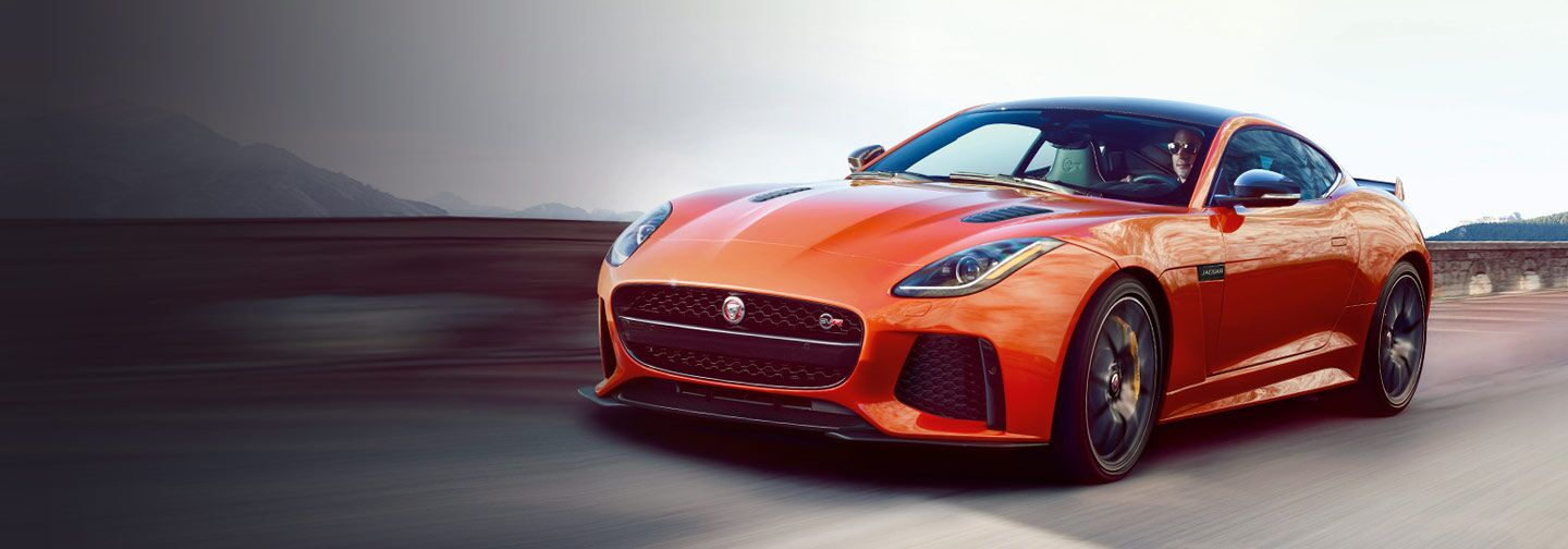 Order your new Jaguar F-TYPE SVR at Jaguar West Columbia