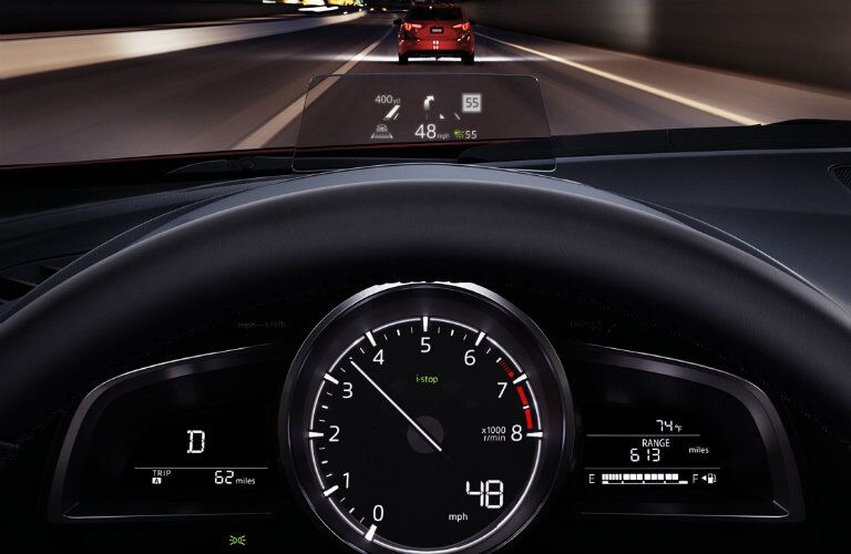 2017 mazda3 instrument cluster design colors