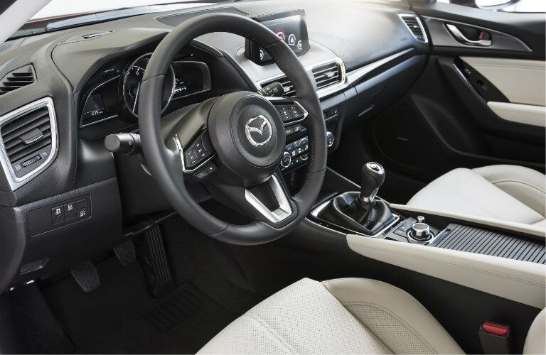 2017 mazda3 dashboard design