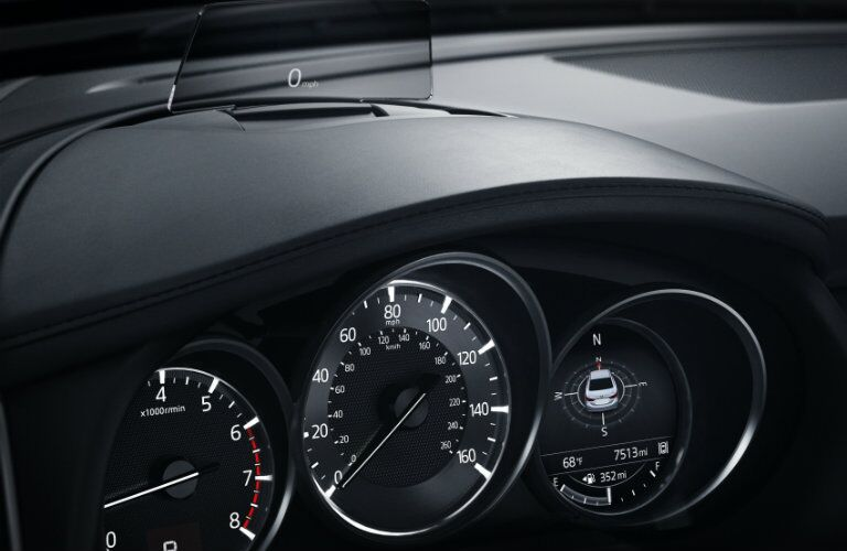 2017 mazda 6 instrument cluster and active driving display design