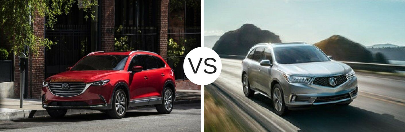 2017 Mazda CX-9 vs 2017 Acura MDX