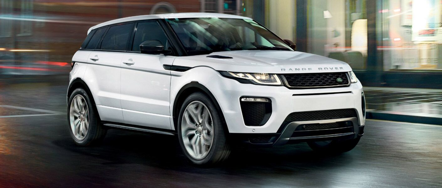 2016 Land Rover Range Rover Evoque front view white